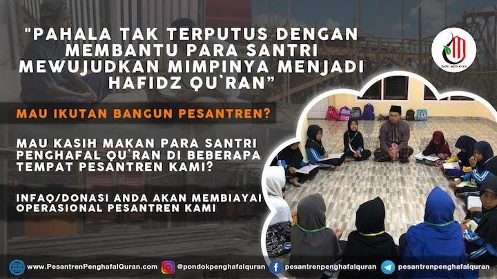 Cover Yuk Infaq Untuk Pesantren Penghafal Al-Qur'an