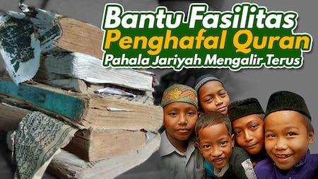 Cover Wakaf Alat Bantu Hafalan (Mushaf dan Audio) Untuk Para Penghafal Qur'an Di Daerah