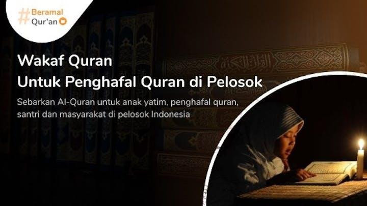 #BeramalQuran Untuk Pelosok Indonesia