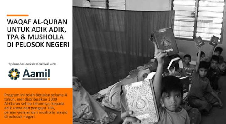 Cover Wakaf Literasi Al Quran