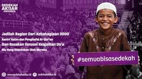Sedekah Akbar Bandung