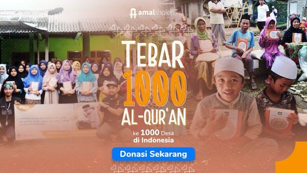Donasi 1000 Quran
